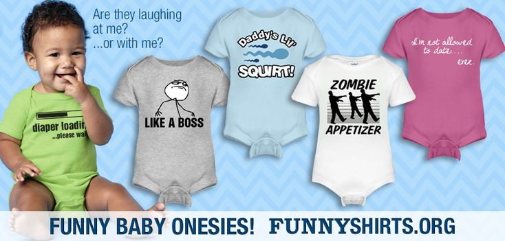 ONSIES FOR BABIES | Funny Onesies for Babies « FunnyShirts.org Blog.. REALLY CUTE STUFF  9;