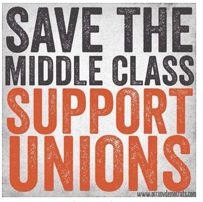 Support unions by BUYING UNION! Visit www.labor411.org for the definitive guide to union products and services