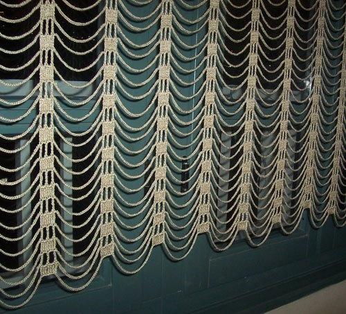 17 mejores im genes sobre cortinas de crochet en pinterest for Quiero ver cortinas
