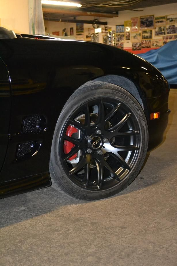 best wheels for black trans am? - LS1TECH - Camaro and Firebird Forum Discussion