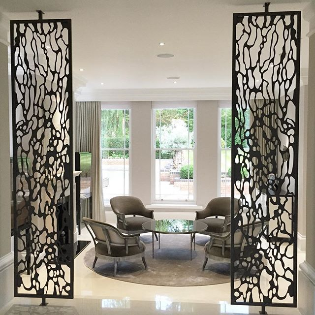 Sophie Paterson Interiors One of my favourite items in the Wentworth project is this pair of bronze metal panels we designed and manufactured for the entrance to the ...