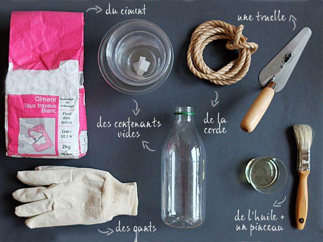Do it yourself : créez vos objets déco en béton   Le blog de Maisons du Monde