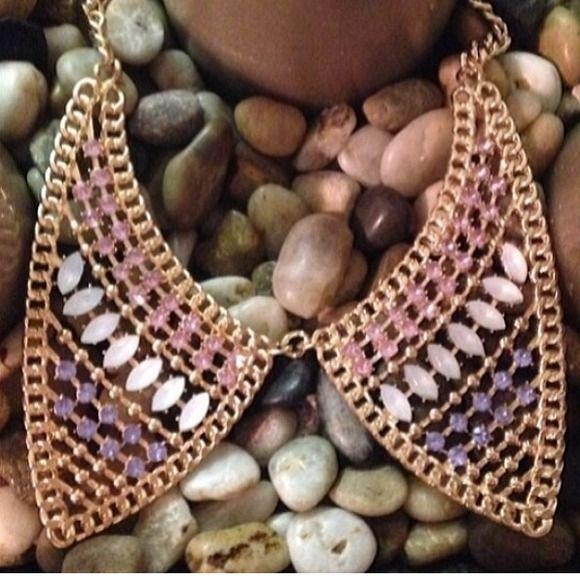 "Selling this ""Rhinestone Collar Necklace"" in my Poshmark closet! My username is: shenzijewelry. #shopmycloset #poshmark #fashion #shopping #style #forsale #Jewelry"