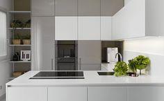 open keuken nieuwbouw schiereiland opstelling - Google zoeken