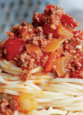 Weigh-Less Online - Spaghetti Bolognaise