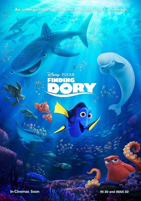 Finding Dory UK/India International poster