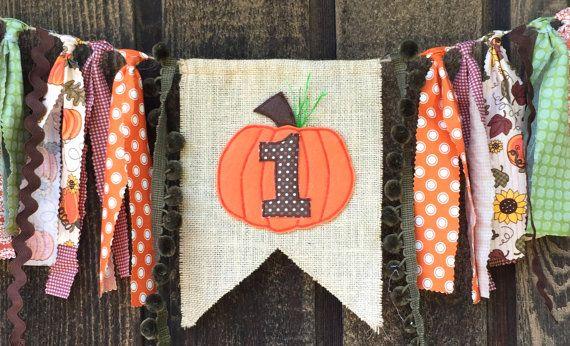 Pumpkin invitation, Halloween birthday, Pumpkin theme, Fall themed birthdays, Pumpkin highchair banner, Little pumpkin theme, fall theme