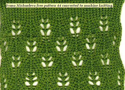flower lace machine pattern, Ludmilla's Blog