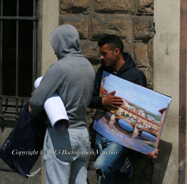 Firenze....vù cumprà!!!!!