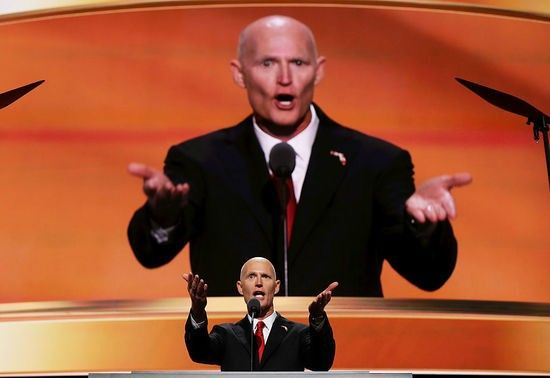 The courts are not looking kindly atFlorida Gov. Rick Scott's multiple efforts to keep people—primarily Democrats—from voting. Last week, his refusal to extend the voter registration deadline in the aftermath of Hurricane Matthew was denied, and voter...