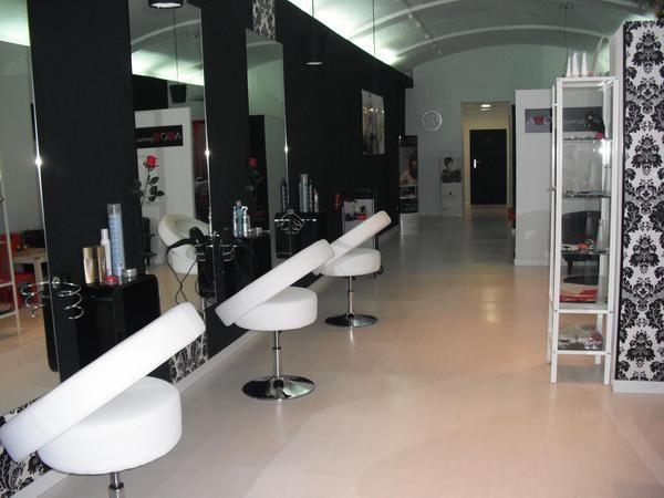 Decoracion de locales peluqueria decoraci n locales - Decoracion moderna salon ...