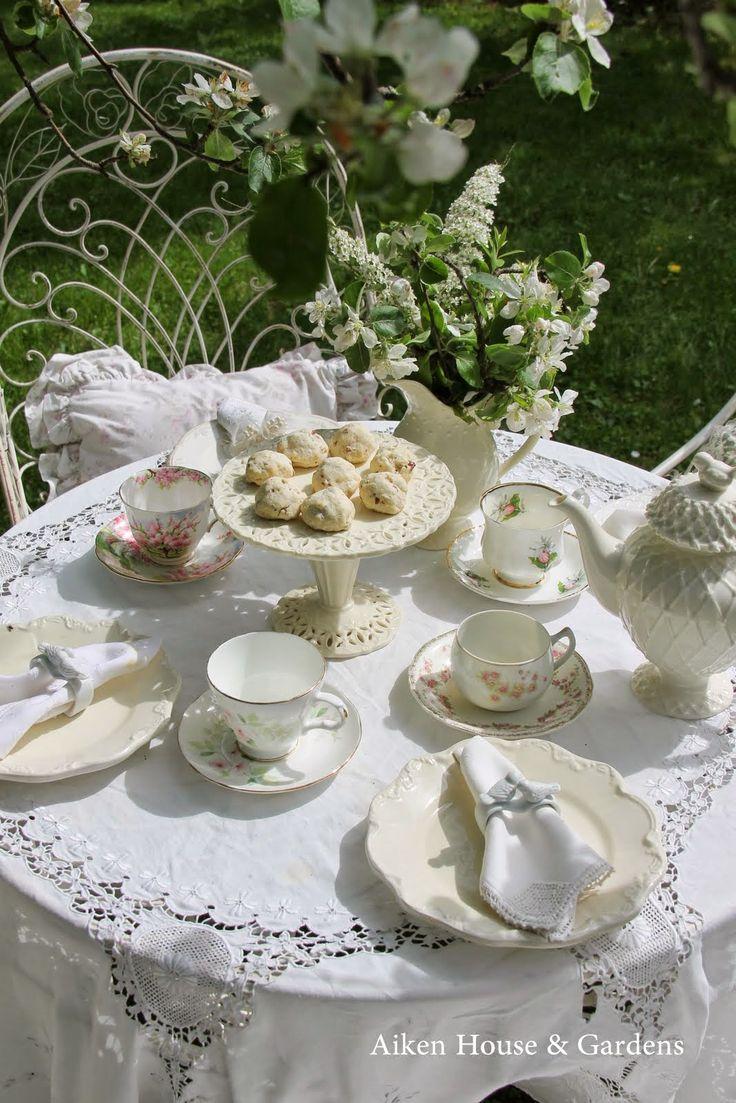 A White Garden Tea