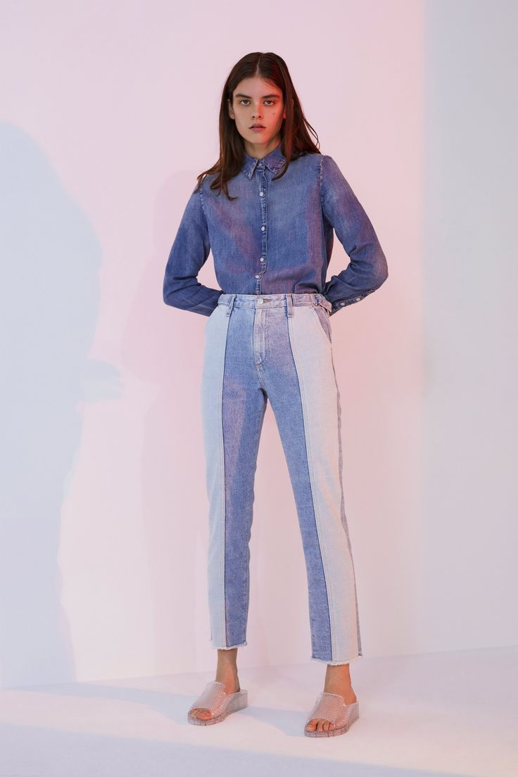 b21f972ee46 AG Spring 2019 Ready-to-Wear Fashion Show in 2019