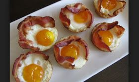 BACON EGG and CHEESE TOAST CUPS