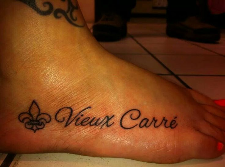 'Vieux Carre' (meaning 'The Quarter' or French Quarter of New Orleans) my favorite place to 'Step Foot' :-)