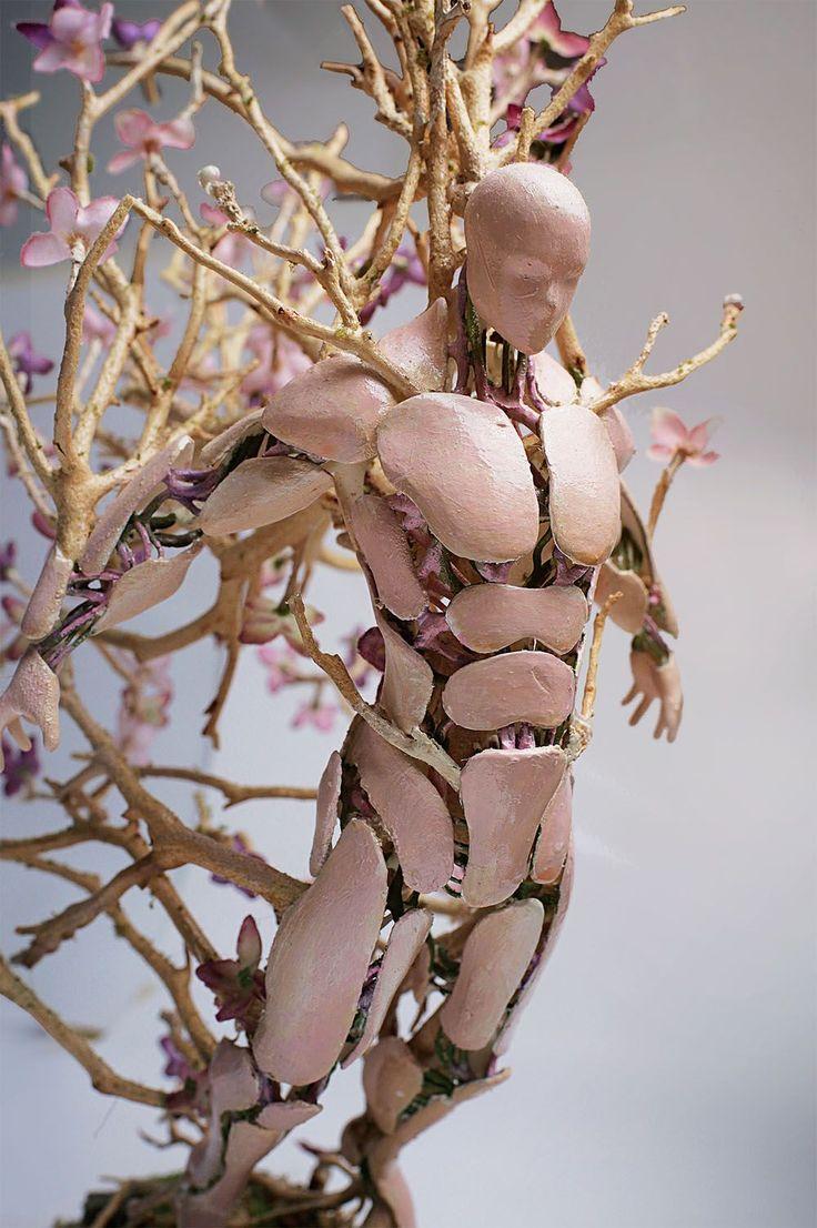 As fabulosas estatuetas de Garret Kane representam as estações do ano | IdeaFixa
