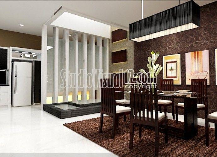 aneka model desain partisi ruangan rumah minimalis home