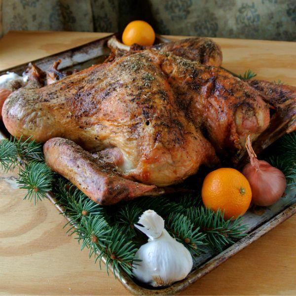 Alton Brown's Butterflied Dry Brined Turkey