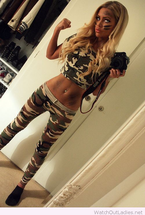 Army look for Halloween