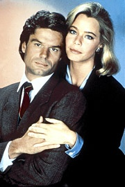 Susan Dey and Harry Hamlin in L.A. Law