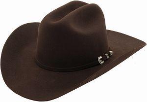 Stetson® 4X Skyline Chocolate Felt Cowboy Hat   Cavender's
