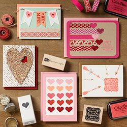 Valentine Card Making Crafter's Night Out!