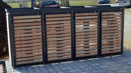ber ideen zu m lltonnenbox auf pinterest m lltonnenbox holz m lltonnenverkleidung und. Black Bedroom Furniture Sets. Home Design Ideas