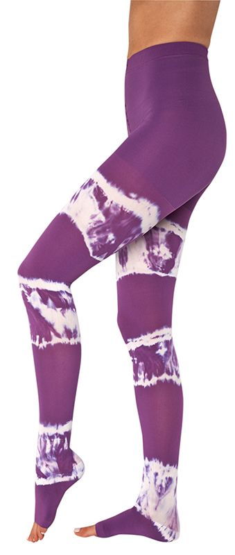 New 2014 Juzo Soft Dream Colors are here! Get these compression pantyhose in Orchid Tie-Dye