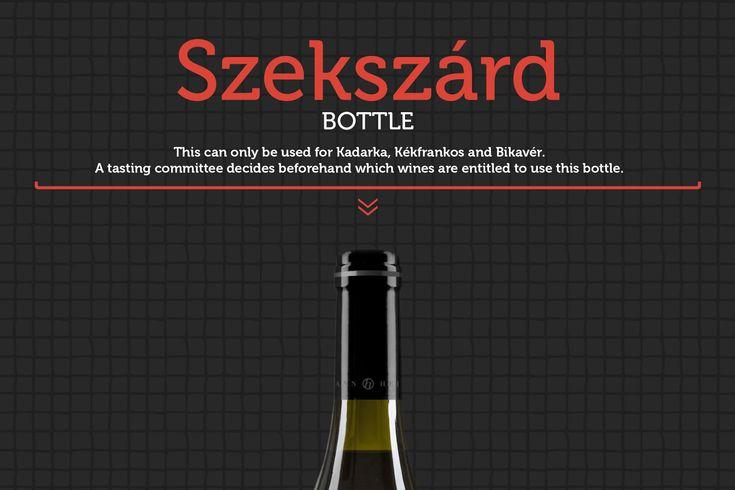 Szekszárd's bottle infoposter