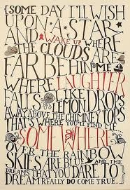 Somewhere over the rainbow: Wizardofoz, Judy Garlands, Quote, Rainbows, Poster, Lemondrop, Baby Rooms, Wizards Of Oz, Lemon Drop