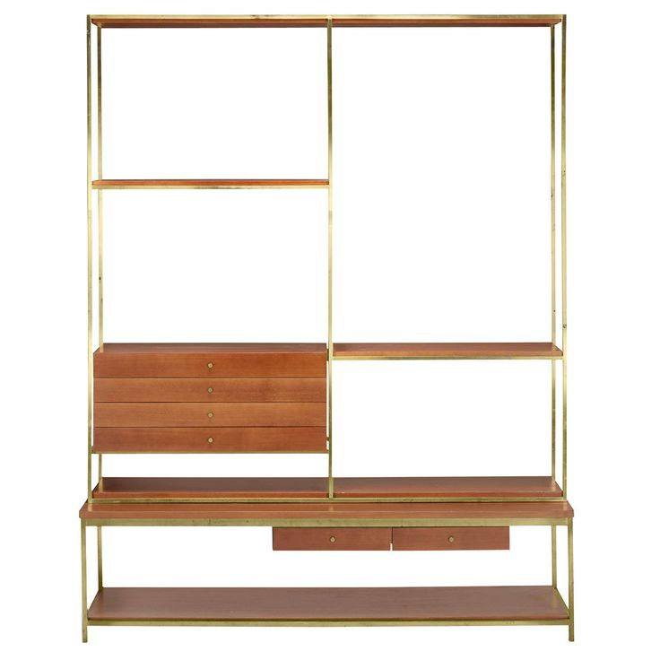 irwin collection shelving unit by paul mccobb for calvin modern