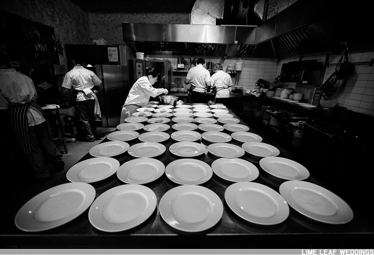 The Chefs Working Hard Organized Chaos My World