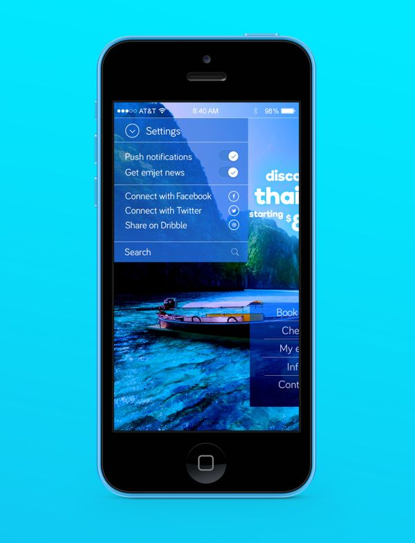 Emjet: A Low-Cost Airline by ralph bechir, via Behance