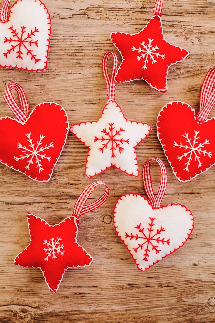Diy Christmas Decorations Felt : Best christmas crafting images on diy