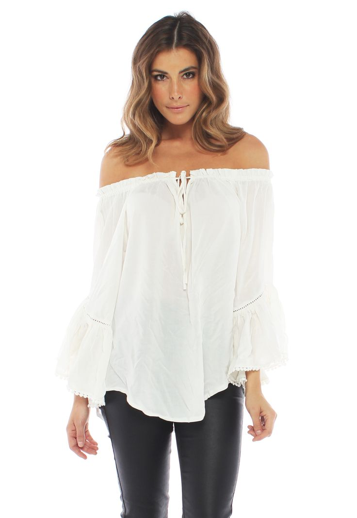 Wilde Heart - Nomad Off The Shoulder Top