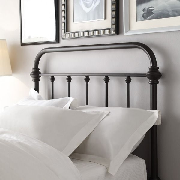 Giselle Antique Graceful Dark Bronze Victorian Iron Bed By Inspire Q Classic Queen Wrought Iron Headboard Iron Headboard Weston Home
