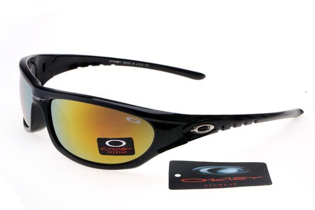 Oakley Deringer Sunglasses Black Frame Colorful Lens 0188