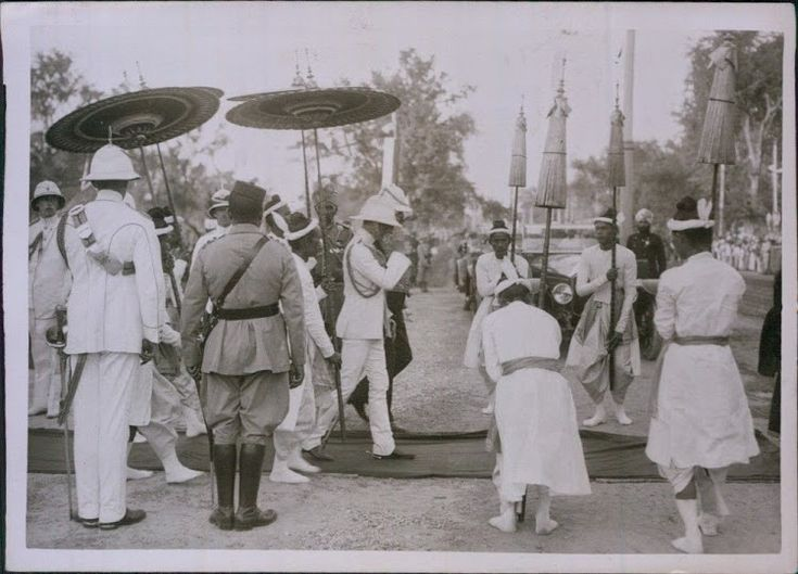 Prince of Wales Edward VIII During a Tour in India - 1921