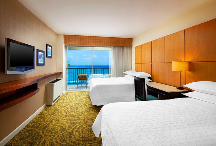 Sheraton Waikiki Hotel - ocean front double