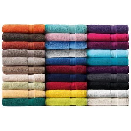 100% Egyptian Cotton Towels   Dunelm Mill - Dark Grey for En Suite!