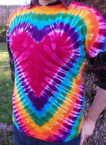 Tie Dye: Pleating a symmetrical image