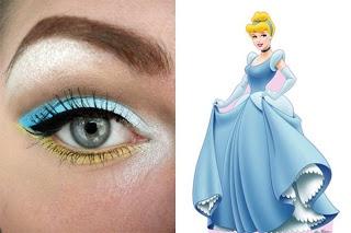Cinderella ~Disney Makeup series @Emma Zangs Zangs Zangs smullen I like this w/o the yellow