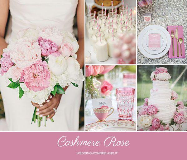 cashmere rose wedding inspiration http://weddingwonderland.it/2015/05/colori-pantone-autunno-2015-2.html