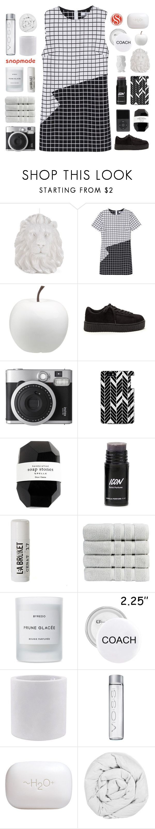 """SNAPMADE // I'M MORE HONEST THAN I WANT."" by gintare-13 ❤ liked on Polyvore featuring Zara Home, CB2, Fujifilm, Cassia, L:A Bruket, Christy, Byredo, Vondom, H2O+ and The Fine Bedding Company"