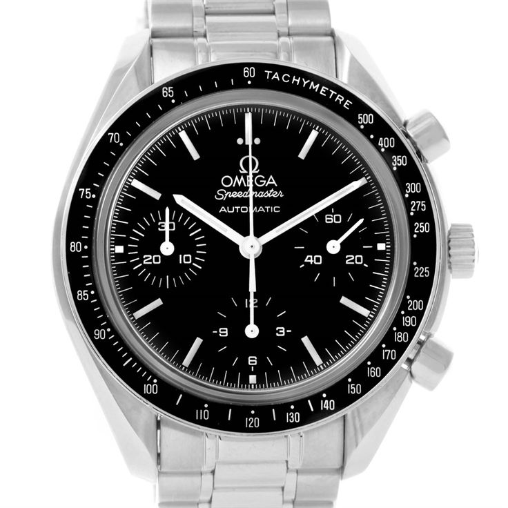 Omega Speedmaster Reduced Sapphire Crystal Watch 3539.50.00 Box Papers