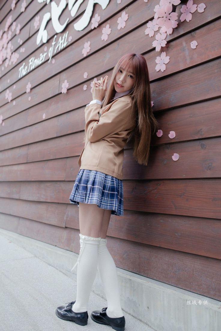俏麗短髮櫻花妹子 | 制服貼圖 | Uniform Map 制服地圖