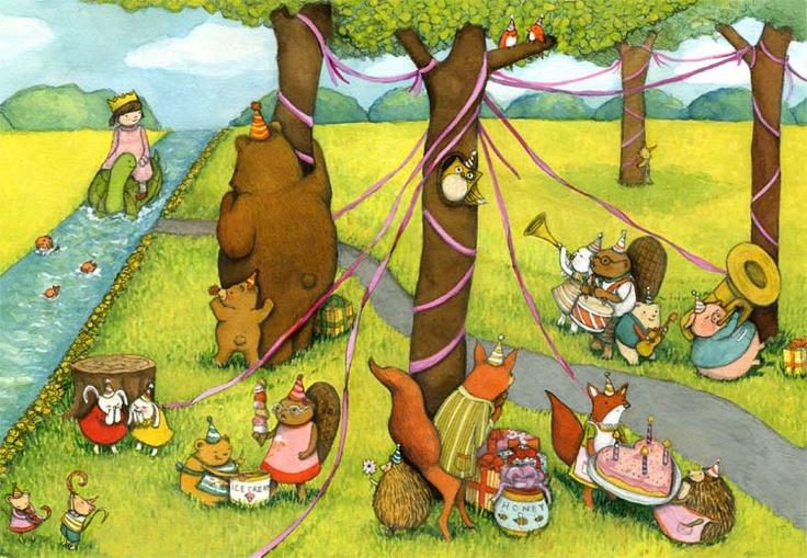 Wonderful children's illustrations by STEPHANIE GRAEGIN | Illustrationmundo | Find an Illustrator