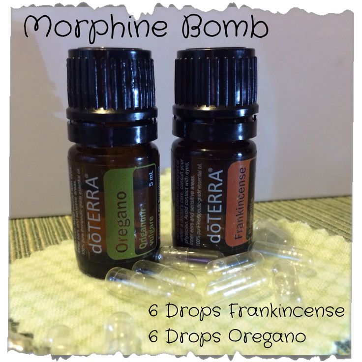 Morphine Bomb | Home and Family Oils