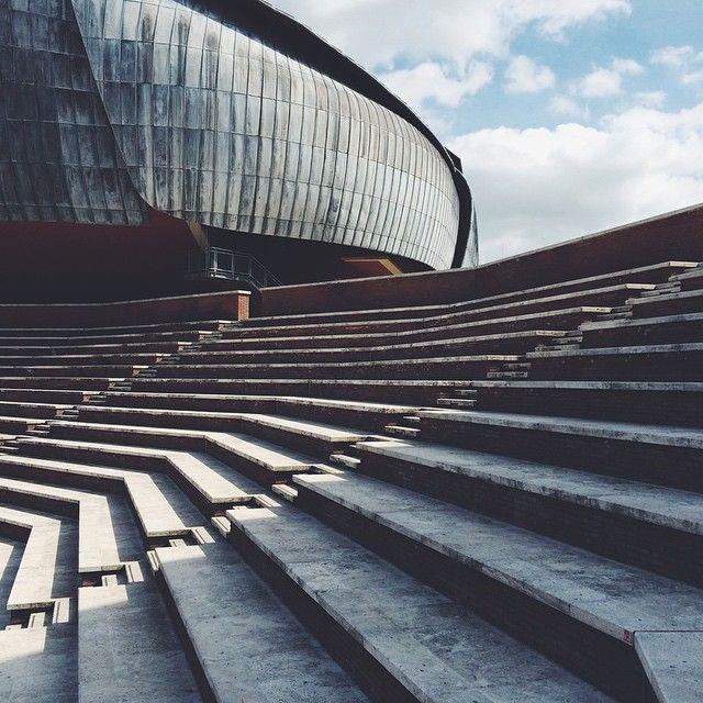 nnmprv:  Auditorium Parco della Musica by Renzo Piano.