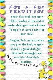 Autograph Books from Teacher